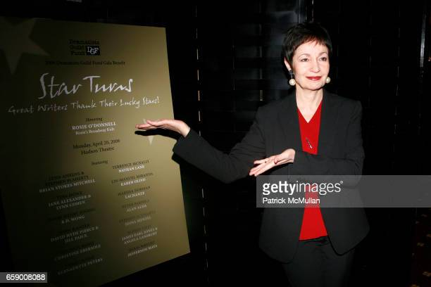 Lynn Ahrens attends The DRAMATISTS GUILD FUND Annual Benefit Gala at The Hudson Theatre on April 20 2009 in New York City