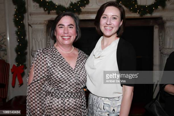 Lynn Amoroso and Jeanz Holt attend ICAA Seventh Annual Stanford White Awards at Metropolitan Club on December 5 2018 in New York City