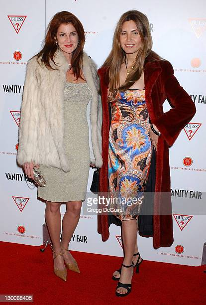 Lynn Blanche and Diana Roque Ellis during Vanity Fair Amped PreOscar Benefit Presented By Guess Benefiting The Justin Timberlake Foundation at The...