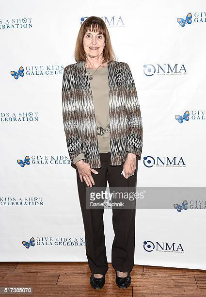 Lynn Bozof attends the 2016 Broadway Supports The NMA at Sardi's on March 24 2016 in New York City