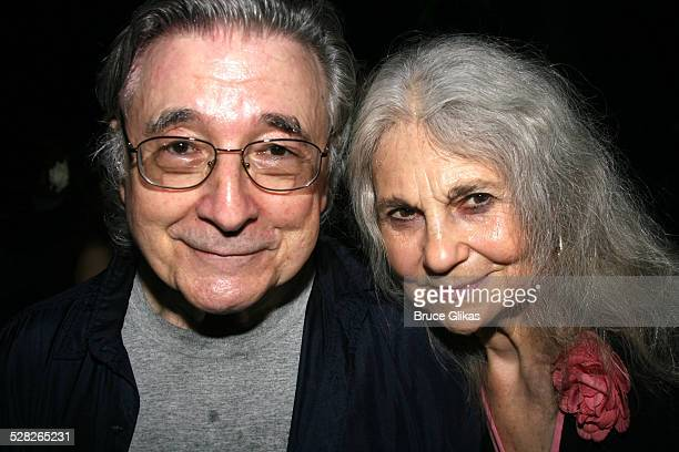 Lynn Cohen and husband during Opening Night Afterparty for Macbeth at The Belvedere Castle in Central Park at The Belvedere Castle in Central Park in...