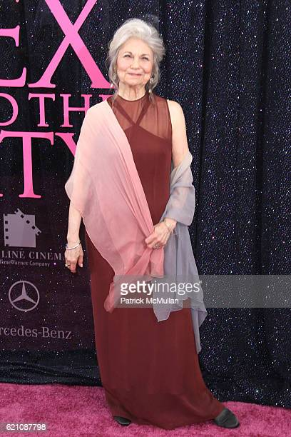 Lynn Cohen attends New York Premiere of New Line Cinema's SEX AND THE CITY at Radio City Music Hall on May 27 2008 in New York City