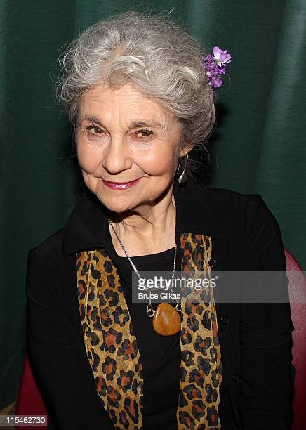 Lynn Cohen attends the 2011 Lilly Awards at Playwrights Horizons on June 6 2011 in New York City