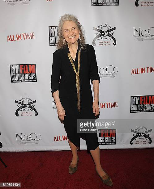 Lynn Cohen attends the All In Time New York Film Critics Screening at AMC Empire 25 theater on October 4 2016 in New York City