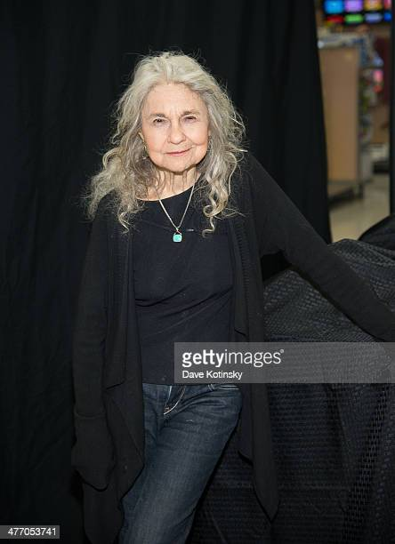 Lynn Cohen attends The Hunger Games Catching Fire DVD release celebration with fans at Walmart Supercenter on March 6 2014 in Secaucus New Jersey