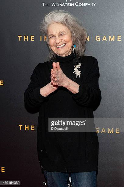 Lynn Cohen attends The Imitation Game New York Premiere at the Ziegfeld Theater on November 17 2014 in New York City