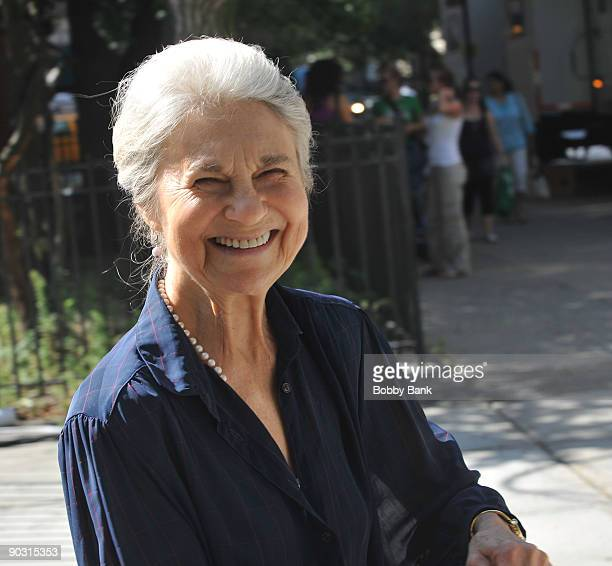 Lynn Cohen on location for Sex And The City 2 on the Streets of Manhattan on September 2 2009 in New York City