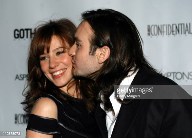 Lynn Collins and Charlie Cox during Gotham Magazine Al Pacino and Sony Pictures Host the Premiere Party for 'The Merchant of Venice' Party Arrivals...