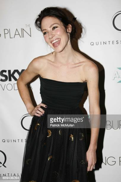 Lynn Collins attends QUINTESSENTIALLY hosts NY premiere of ìThe Burning Plainî at Landmark Sunshine on September 16 2009 in New York City