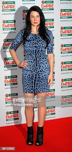 Lynn Collins attends the Jameson Empire Film Awards at The Grosvenor House Hotel on March 28, 2010 in London, England.