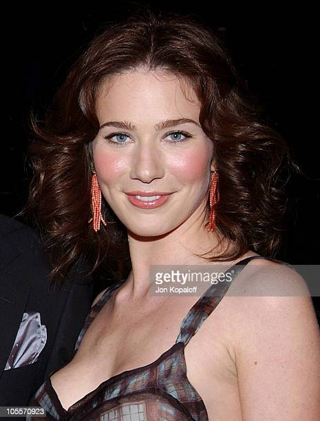 Lynn Collins during 2004 AFI Film Festival 'The Merchant of Venice' Arrivals at ArcLight Cinerama Dome in Hollywood California United States