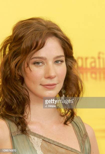 Lynn Collins during 2004 Venice Film Festival 'The Merchant Of Venice' Photo Call at Casino in Venice Lido Italy