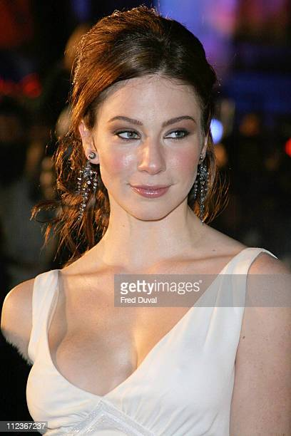 Lynn Collins during 'Merchant of Venice' Royal Premiere London at Odeon Leicester Square in London Great Britain