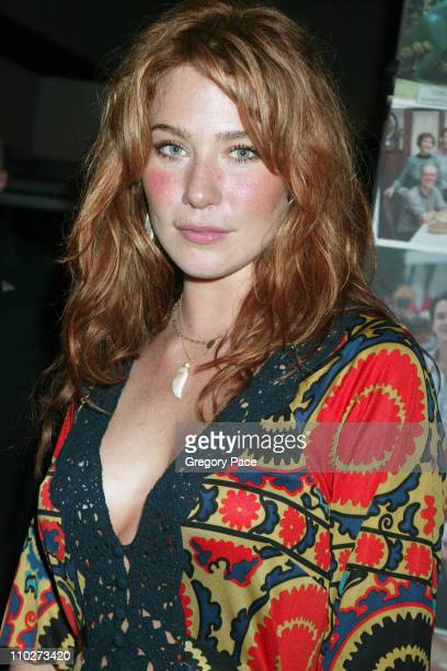 Lynn Collins during Paramount Pictures' 'Elizabethtown' New York City Premiere Inside Arrivals at Loews Lincoln Square in New York City New York...