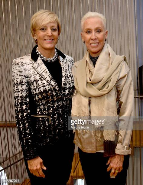 Lynn Conley and Carolee Lee Attend the LOOT MAD About Jewelry at The Museum of Arts and Design on April 16 2018 in New York City
