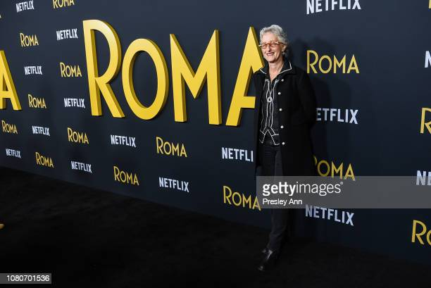 Lynn Fainchtein attends Los Angeles Premiere Of Alfonso Cuaron's 'Roma' at American Cinematheque's Egyptian Theatre on December 10 2018 in Hollywood...