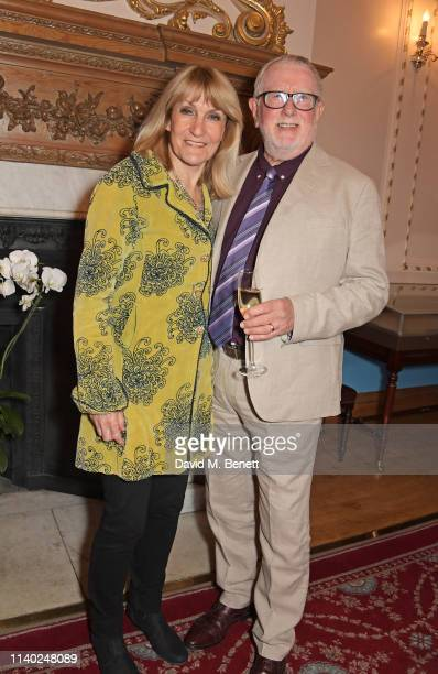 Lynn Faulds Wood and Bill Hagerty attend the London Press Club Awards 2019 at Stationers' Hall on April 30 2019 in London England