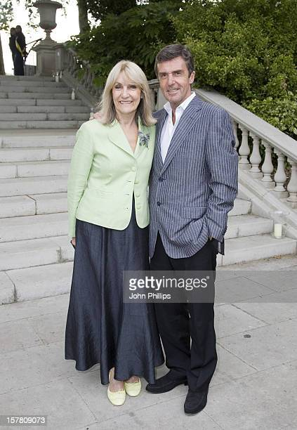 Lynn Faulds Wood And John Stapleton Arrive For The Pratham Uk Indian Summer Garden Party At The Chelsea Conservatory London