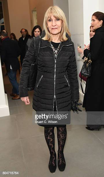 Lynn Faulds Wood attends Saatchi's first ever all female show to mark the Gallery's 30th Anniversary at The Saatchi Gallery on January 12 2016 in...