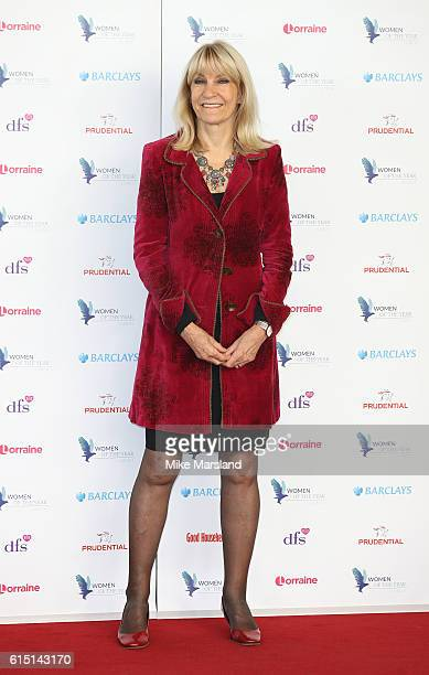 Lynn Faulds Wood attends the Women of the Year Awards 2016 at InterContinental Park Lane Hotel on October 17 2016 in London England