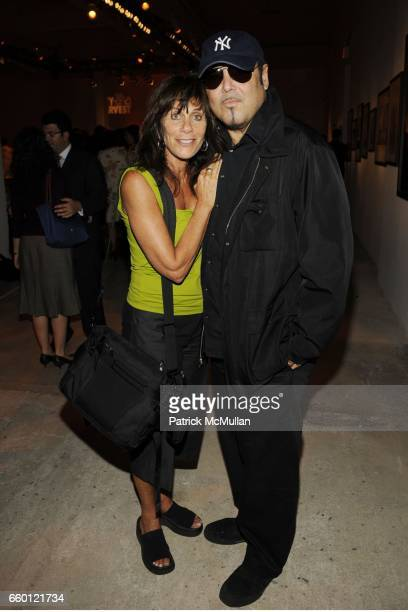 Lynn Goldsmith and Kevin Dornan attend An Evening of Photography To Benefit CITY HARVEST at Skylight Studios on September 18 2008 in New York City