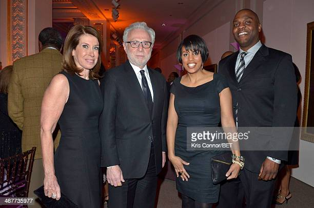 Lynn Greenfield Wolf Blitzer Stephanie RawlingsBlake and Kent Blake attend the BET Honors 2014 Debra Lee PreDinner at the National Museum of Women in...