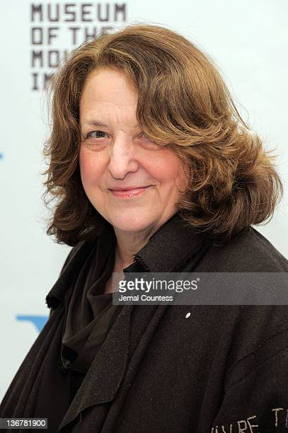 Lynn Hershman Leeson attends the 5th Annual Cinema Eye Honors for Nonfiction Filmmaking at the Museum of the Moving Image on January 11 2012 in the...