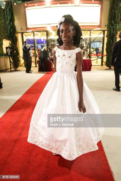 Lynn Jackman arrives at the 2017 HAPAwards at Alex Theatre on November 18 2017 in Glendale California