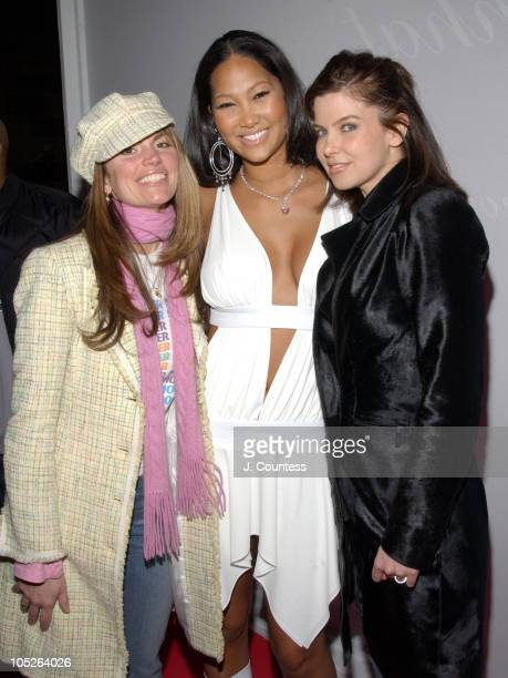 Lynn Koplitz Kimora Lee Simmons and Jules AsnerLife Style's cohosts