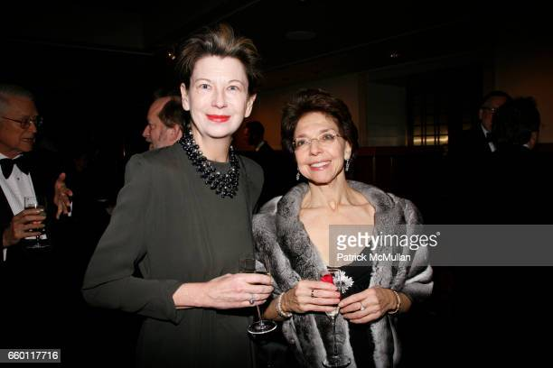 Lynn Loacker and Nomi Ghez attend NEW YORK CITY OPERA Winter Gala at Carnegie Hall on January 15 2009 in New York City