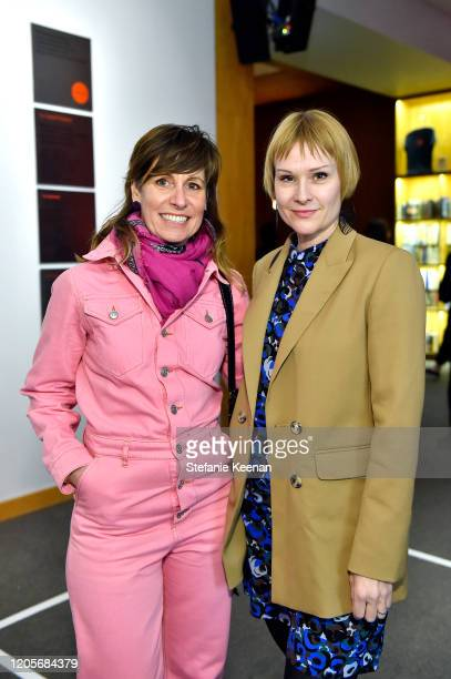 Lynn Marsh and Amanda Beech attend 5050 A Creative Century from Chouinard to CalArts Opening at REDCAT on February 11 2020 in Los Angeles California