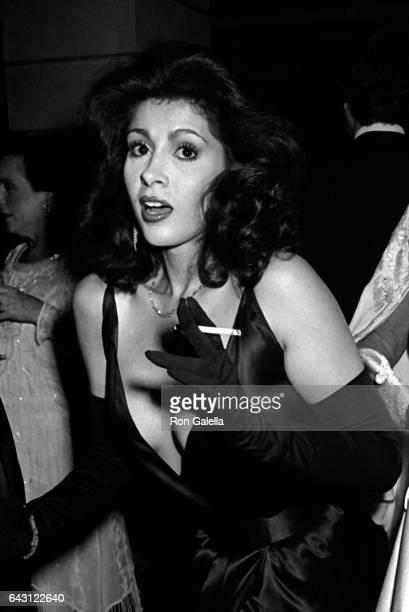 Lynn Marshall von Furstenberg attends Best Awards Dinner Dance on December 12 1985 at the Pierre Hotel in New York City