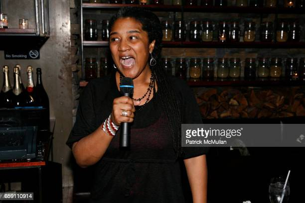 Lynn Nottage attends Benefit Performance for EQUALITY NOW RUINED at NY City Center Stage 1 on April 7 2009 in New York City