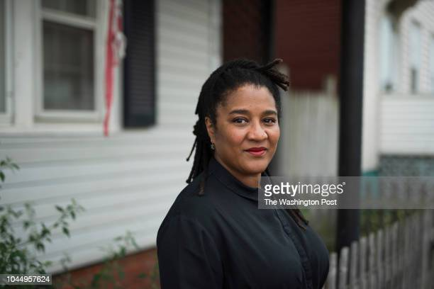 Lynn Nottage, author of the Pulitzer-Prize winning Broadway Play Sweat photographed in Erie, Pennsylvania on September 27, 2018.