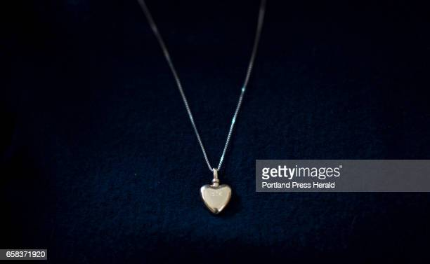 Lynn Ouellette wears some of Brendan's ashes in a heart shaped locket around her neck every day 'It never gets easier' Ouellette said