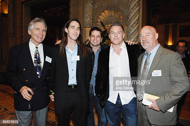 Lynn Ourso Joel High Dave Jordan Matt Sullivan and Reid Wick attend Only In Louisiana A Celebration of Music Culture and Business at the Millennium...