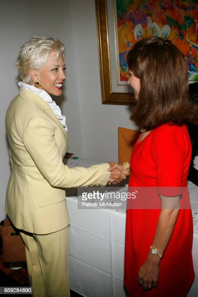 Lynn Paulson and Jean Shafiroff attend JEAN SHAFIROFF hosts a luncheon for THE NEW YORK WOMEN'S FOUNDATION at Le Cirque on September 17 2009 in New...
