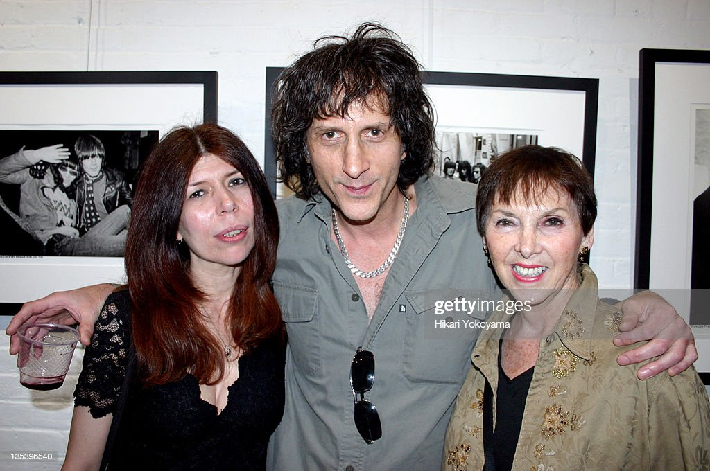 Lynn Probst, Mickey Leigh and Charlotte Lesher during Bob Gruen Print Sale Benefiting the Joey Ramone Foundation at Morrison Hotel Gallery Loft in New York, New York, United States.