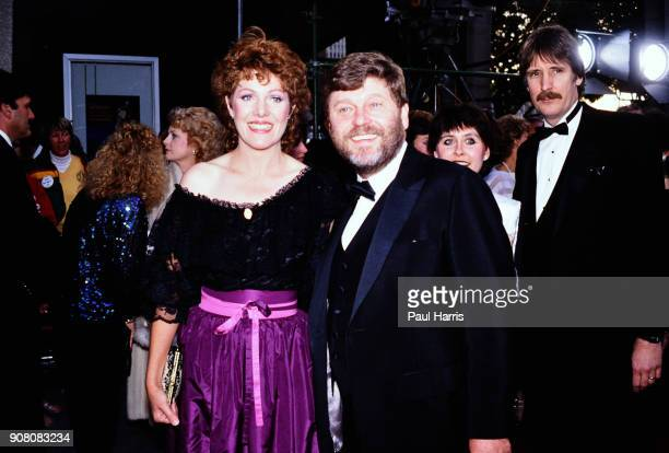 Lynn Redgrave and her husband John Clark arrive at a celebrity event in 1988 in Los Angeles California 'n