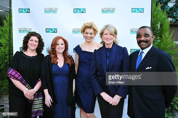 Lynn Sadofsky Producer of Whatever Martha Jennifer Koppelman Hutt Alexis Stewart Martha Stewart and Bernie Young Executive Producer of The Martha...