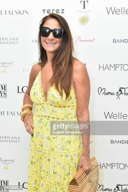 Lynn Scotti attends the Hamptons Magazine London Jewelers Host A Luxury Shopping Afternoon at Topping Rose House on July 18 2018 in Bridgehampton New...