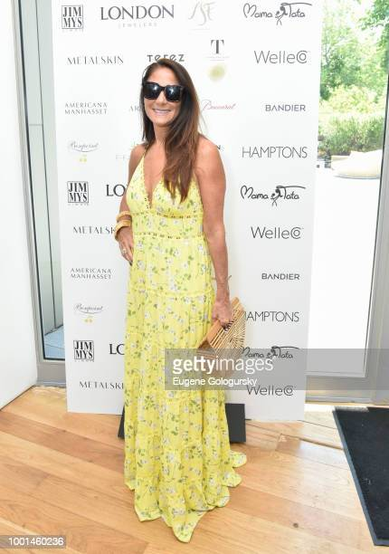 Bandier display at the Hamptons Magazine London Jewelers Luxury Shopping Afternoon at Topping Rose House on July 18 2018 in Bridgehampton New York