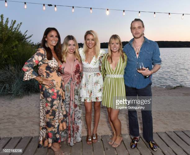Lynn Scotti Cara Chen Dria Murphy Amber Sherman and Jordan Wilson attend Hamptons Magazine VIP Dinner At The Surf Lodge With Assouline PatBO And Evan...