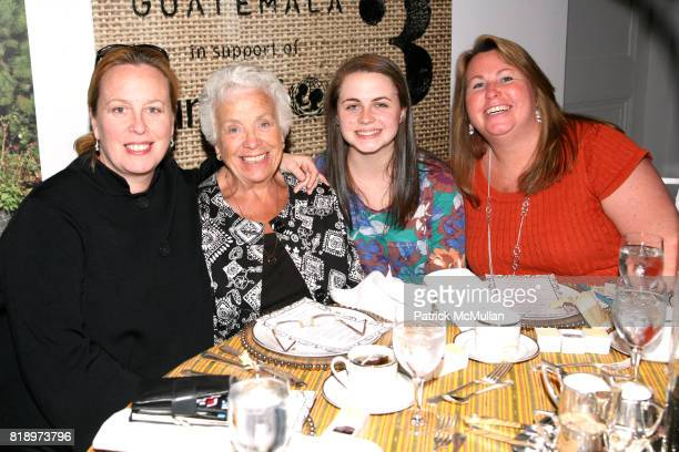 Lynn Stratford Jean Stratford Katherine Reda and Amy Reda attend LORD TAYLOR Mother/Daughter Tea for FEED with LAUREN BUSH and ELLEN GUSTAFSON at...