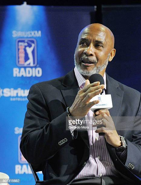 Lynn Swann at the SiriusXM PGA TOUR Radio Town Hall broadcast at the PGA Merchandise Show 2016 at Orange County Convention Center on January 28 2016...