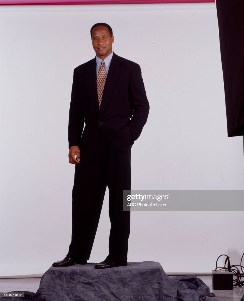 Lynn Swann promotional photo for ABC Sports.