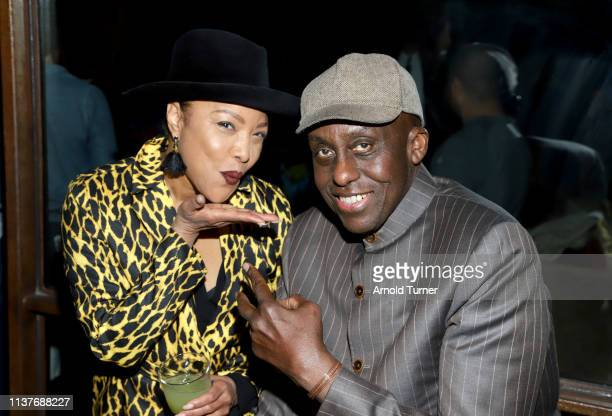 Lynn Whitfield and Bill Duke attends Netflix's NAACP Image Awards Nominee Celebration at Hinoki & The Bird on March 22, 2019 in Los Angeles,...