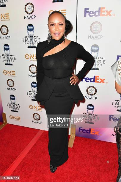 Lynn Whitfield at the 49th NAACP Image Awards NonTelevised Awards Dinner at the Pasadena Conference Center on January 14 2018 in Pasadena California