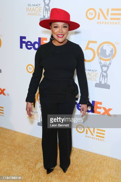 Lynn Whitfield attends 50th NAACP Image Awards Nominees Luncheon Arrivals at Loews Hollywood Hotel on March 09 2019 in Hollywood California