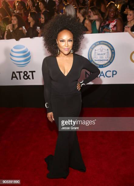 Lynn Whitfield attends the 49th NAACP Image Awards at Pasadena Civic Auditorium on January 15 2018 in Pasadena California